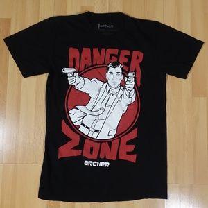 Archer Danger Zone T Shirt Hot Topic